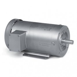 Baldor Electric CSSEWDM3559T 3 Hp, 208-230/460 Vac, 145TC Fr, C-Face, 3600 Rpm, 3 PH, TEFC, Foot Mounted, Washdown Duty Motor, Stainless Steel, Super-E