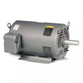 Baldor Electric M1004T, 1-0.25 Hp, 1800/900 Rpm, 143T FR, 208-230 Vac, 3 PH, ODP, Foot Mounted, Two Speed Motor, One Winding