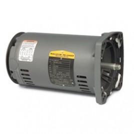 Baldor Electric JSM3120 1 1/2 Hp, 3600 Rpm, 56YZ Fr, 230/460 Vac, 3 PH, ODP, Square Flange Pump Motor