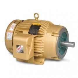 Baldor Electric CEM3586T 2 Hp, 230/460 Vac, 145TC FR, C-Face, 3600 Rpm, 3PH,  TEFC,  Foot Mounted, General Purpose Motor