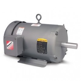 Baldor Electric M3536 1/3 Hp, 900 Rpm, 56 Frame, 230/460 Vac, 3 Phase Input, Totally Enclosed, Foot Mounted