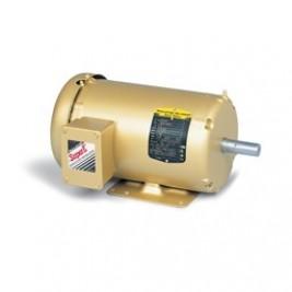 Baldor Electric EM3611T, 3 Hp, 1800 Rpm, 182T FR, 230/460 Vac, 3 PH, TEFC, Foot Mounted, General Purpose Motor