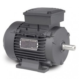 EMM5600, 1.1 KW / 1.5 Hp, 3600 RPM, D80 FR, 230/460 Vac, 3 PH Input,  TEFC, B3, Foot Mounted, IEC Metric Motor