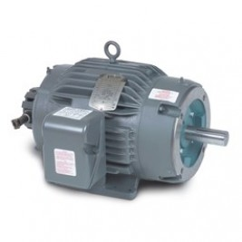 Baldor Electric IDNM3669T 2 Hp, 1800 Rpm, 182TC Fr, 230/460 Vac, 3 Ph, TENV, Foot Mounted, C-Face, Inverter Driver Motor