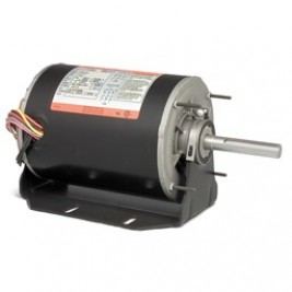Baldor Electric CHM345A, 1/2 Hp, 1800 Rpm, 56Z FR, 230/460 Vac, 3 PH, OPAO, HVAC Blower, Commercial Motor