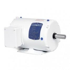 Baldor Electric WDM3538 1/2 Hp, 1800 Rpm, 56 Frame, 230/460 Vac, 3 Phase Input,  TENV,  Foot Mounted, Washdown Duty Motor