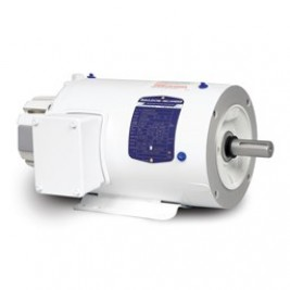 Baldor Electric ZDWNM3611T 3 Hp, 230/460 Vac, 3 Phase Input, 184TC Frame, 1800 Rpm, TENV, C-Face, Foot Mounted, Washdown Vector Duty Motor
