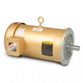 Baldor Electric VEM3538 1/2 Hp, 230/460 Vac, 3 Phase Input, 56C Frame, C-Face, 1800 Rpm, TENV, Footless, General Purpose Motor