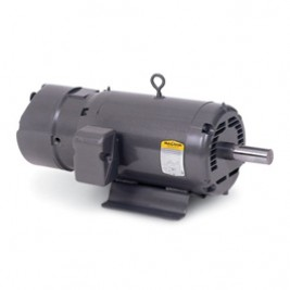 BM3108, 1/2 Hp, 1800 Rpm, 56 FR, 230/460 Vac, 3 PH, ODP, Foot Mounted, Brake Motor