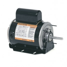 CHC465A, 3/4 Hp, 1200 Rpm, 56 FR, 115/230 Vac, 1 PH, TEAO, Direct Drive Fan, Commercial Motor