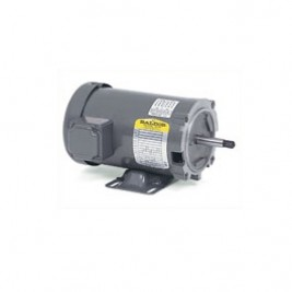 Baldor Electric CJM3108 1/2 Hp, 1800 Rpm, 56J FR, 230/460 Vac, 3PH, ODP, Stainless Steel Threaded Shaft, Foot Mounted, Pump Motor