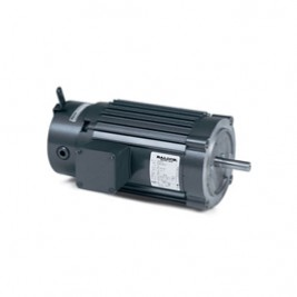 Baldor Electric VRBM3554T 1 1/2 Hp, 208-230/460 Vac, 3 Ph, 145TC Fr, 1800 Rpm, TENV, High Cycle Brake Motor