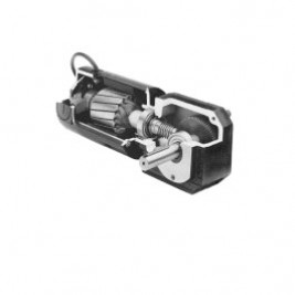 (N4866) 1/4 Hp, 8.9 Rpm, 280:1, 380 Lb-in., 42A5BEPM-GB, 24 Vdc.