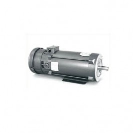 Baldor Electric CDPT3605 5 Hp, 180 Vdc, 1810ATC FR, 1750 Rpm, TEFC, PM, C-Face With Base, SCR Drive Motor