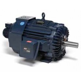 Y569, 284THFPA8028, 25 Hp, 1800 Rpm, 284T FR, 230/460 Vac, 3 PH, TEFC, C-Face with Base, Inverter Duty, Blue Max 2000