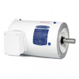 Baldor Electric VEWDM3554, 1 1/2 Hp, 1800 RPM, 56C FR, 208-230/460 Vac, 3 PH, TEFC, C-Face, Footless, Washdown Duty Motor
