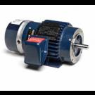 Marathon Electric Y989, 5 Hp, 1800 Rpm, 184TC FR, 230/460 Vac, 3 PH, TENV, C-Face Footed, Inverter Duty, Blue Max 2000, Brakemotor, 184THTS8056