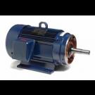 U348A, 254TTFL4031, 15 Hp, 1800 Rpm, 254JM FR, 230/460 Vac, 3 PH, Totally Enclosed, C-face Footed, Close-Coupled Pump, JM, EPAct Motor.