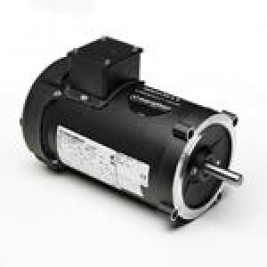 1 hp 1800 RPM C-Face Ball Bearing Marathon Y378 56C Frame Totally Enclosed Fan Cooled 56H17F2022 Vector Duty Motor 3 Phase 230//460 VAC 1 Speed